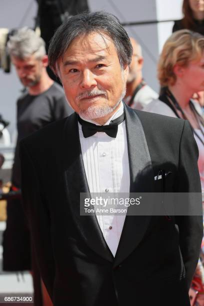Kiyoshi Kurosawa attends the 'How To Talk To Girls At Parties' screening during the 70th annual Cannes Film Festival at Palais des Festivals on May...