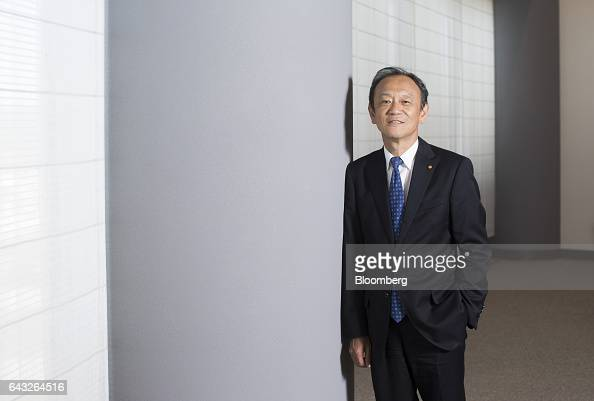 Kiyotaka Ise senior managing officer of Toyota Motor Corp poses for a photograph after an interview in Toyota City Aichi Japan on Thursday Oct 27...