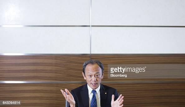 Kiyotaka Ise senior managing officer of Toyota Motor Corp speaks during an interview in Toyota City Aichi Japan on Thursday Oct 27 2016 Toyota plans...