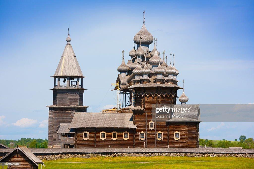 Kizhi. Monastery landscape : Stock Photo