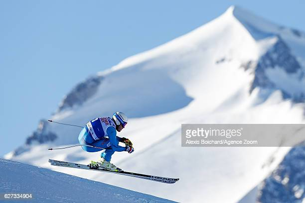 Kjetil Jansrud of Norway competes during the Audi FIS Alpine Ski World Cup Men's Downhill on December 3 2016 in Val d'Isere France