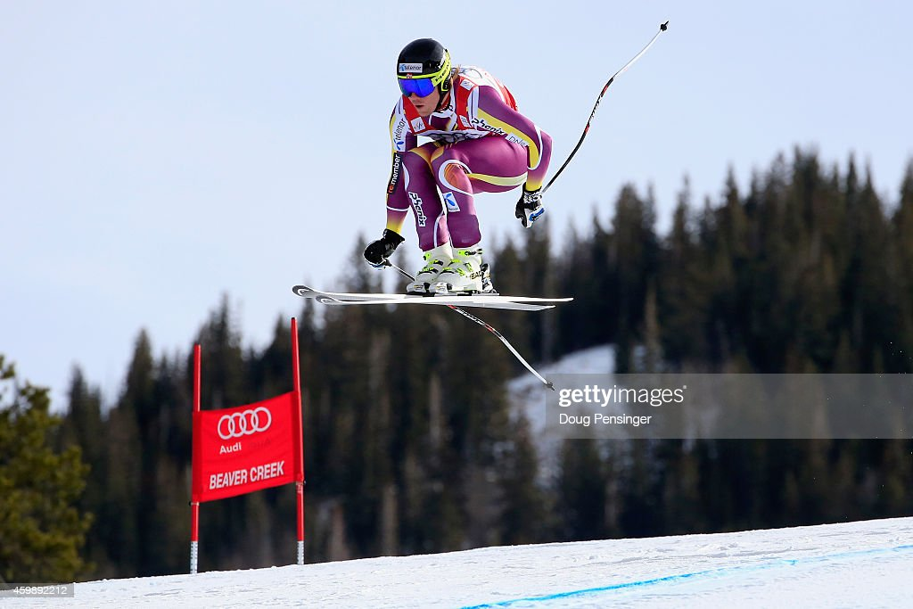 <a gi-track='captionPersonalityLinkClicked' href=/galleries/search?phrase=Kjetil+Jansrud&family=editorial&specificpeople=816480 ng-click='$event.stopPropagation()'>Kjetil Jansrud</a> of Norway descends the course during men's downhill training for the Audi FIS World Cup on the Birds of Prey on December 3, 2014 in Beaver Creek, Colorado.
