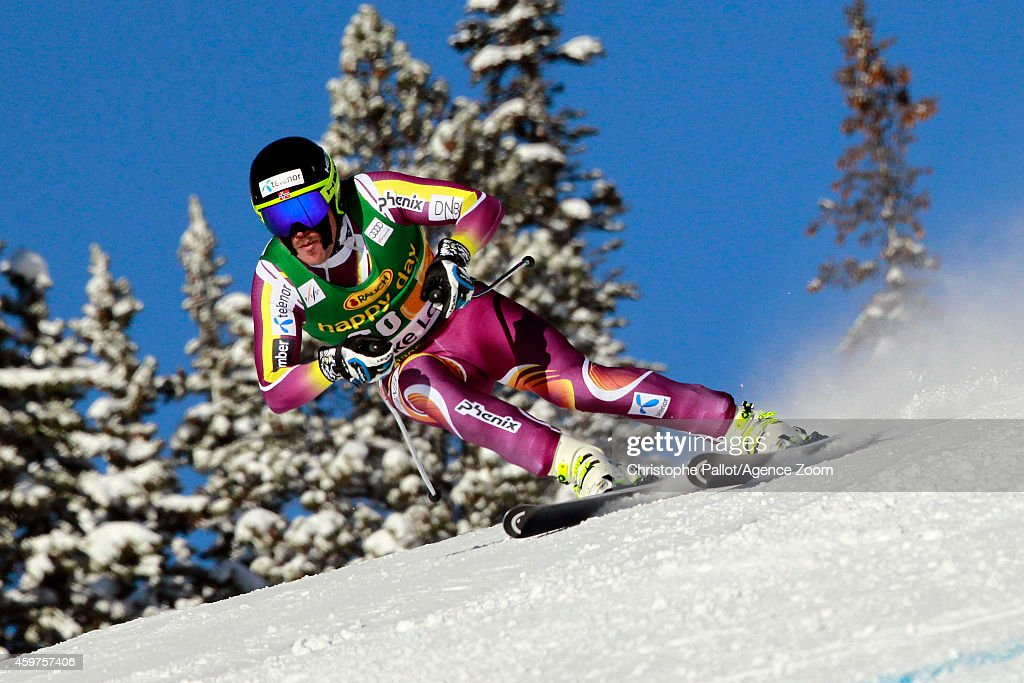 <a gi-track='captionPersonalityLinkClicked' href=/galleries/search?phrase=Kjetil+Jansrud&family=editorial&specificpeople=816480 ng-click='$event.stopPropagation()'>Kjetil Jansrud</a> of Norway takes 1st place during the Audi FIS Alpine Ski World Cup Men's Super-G on November 30, 2014 in Lake Louise, Canada.