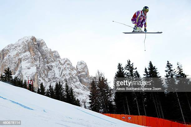 Kjetil Jansrud of Norway takes 2nd place during the Audi FIS Alpine Ski World Cup Men's Downhill on December 19 2014 in Val Gardena Italy