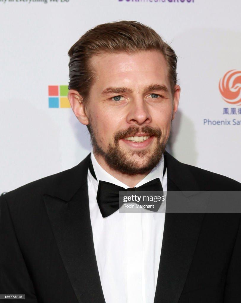 Klaas Heufer-Umlauf attends the 40th International Emmy Awards on November 19, 2012 in New York City.