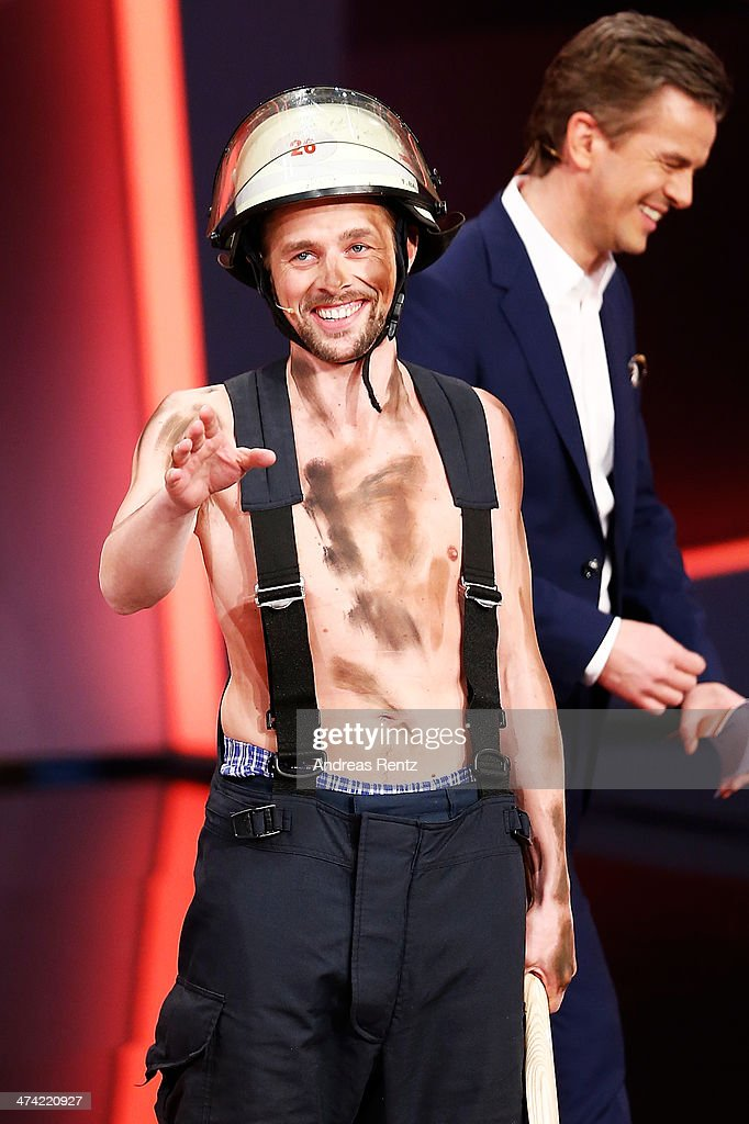 Klaas HeuferUmlauf attends the 'Wetten dass' TV Show from Dusseldorf at the ISS Dome on February 22 2014 in Duesseldorf Germany