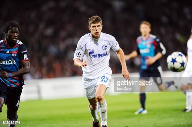 Klaas Jan HUNTELAAR Lyon / Schalke 04 1er journee de Ligue des Champions