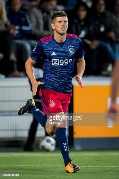Klaas Jan Huntelaar of Ajax during the Dutch Eredivisie match between Heracles Almelo and Ajax Amsterdam at Polman stadium on August 12 2017 in...