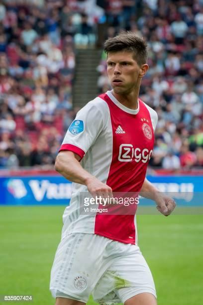 Klaas Jan Huntelaar of Ajax during the Dutch Eredivisie match between Ajax Amsterdam and FC Groningen at the Amsterdam Arena on August 20 2017 in...