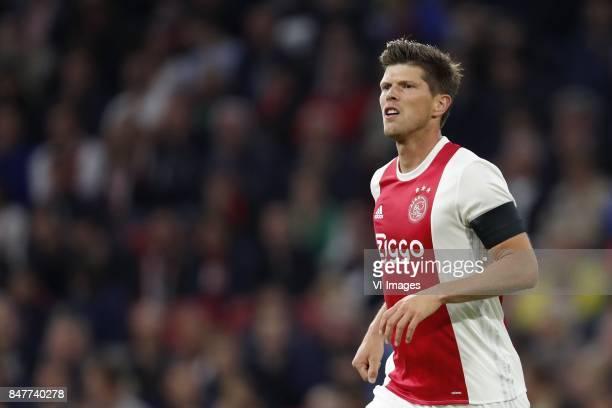 Klaas Jan Huntelaar of Ajax during the Dutch Eredivisie match between Ajax Amsterdam and PEC Zwolle at the Amsterdam Arena on September 09 2017 in...
