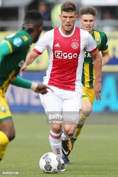 Klaas Jan Huntelaar of Ajax during the Dutch Eredivisie match between ADO Den Haag and Ajax Amsterdam at Car Jeans stadium on September 17 2017 in...