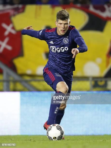 Klaas Jan Huntelaar of Ajax during the Dutch Eredivisie match between NAC Breda and Ajax Amsterdam at the Rat Verlegh stadium on November 18 2017 in...