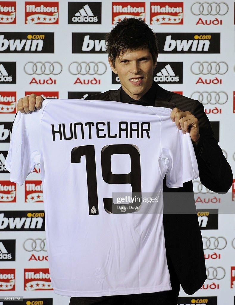 Real Madrid Presents Klaas Jan Huntelaar As New Player s and