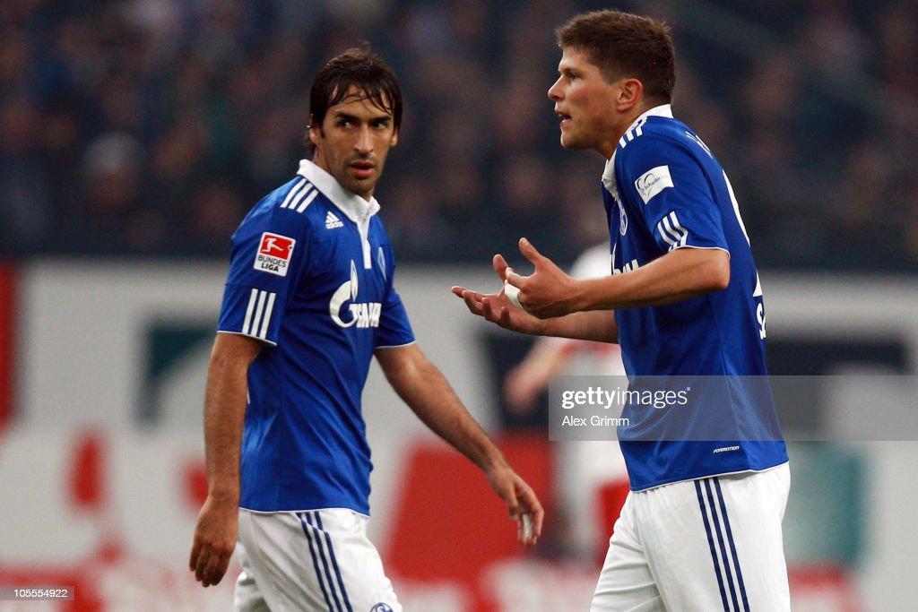 FC Schalke 04 v VfB Stuttgart - Bundesliga