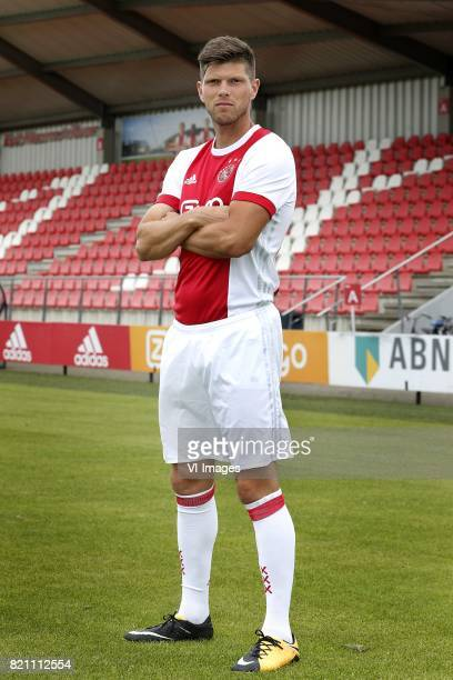 KlaasJan Huntelaar during the team presentation of Ajax on July 22 2017 at the at the Toekomst in Amsterdam The Netherlands