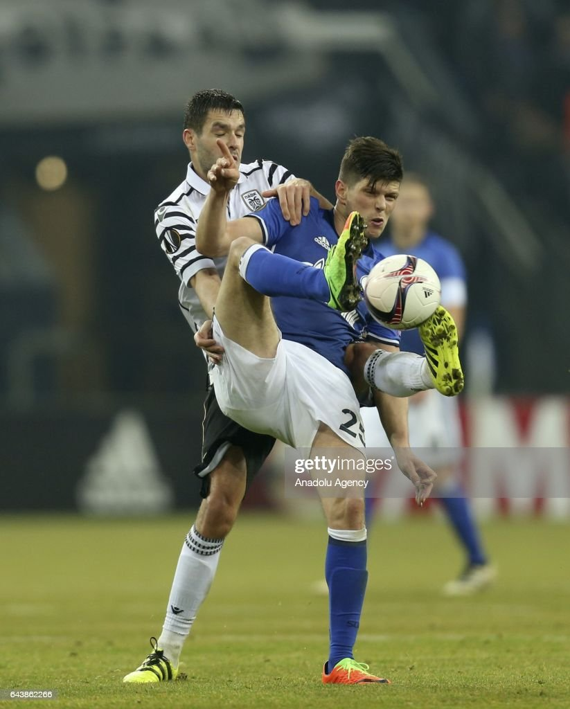 FC Schalke 04 vs PAOK FC UEFA Europa League