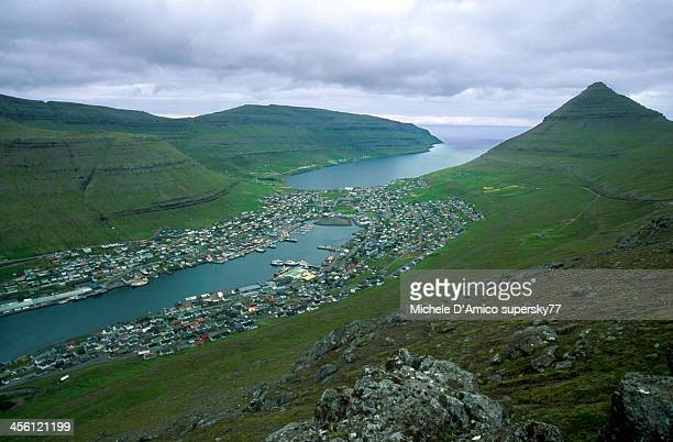 Klaksvik, town in the Faroes