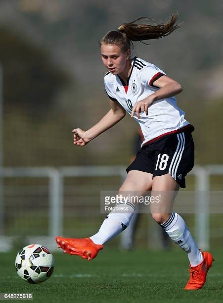 Klara Buhl of Germany in action during the international friendly match between Germany Women U19 and USA Women U19 at La Manga Club on March 5 2017...