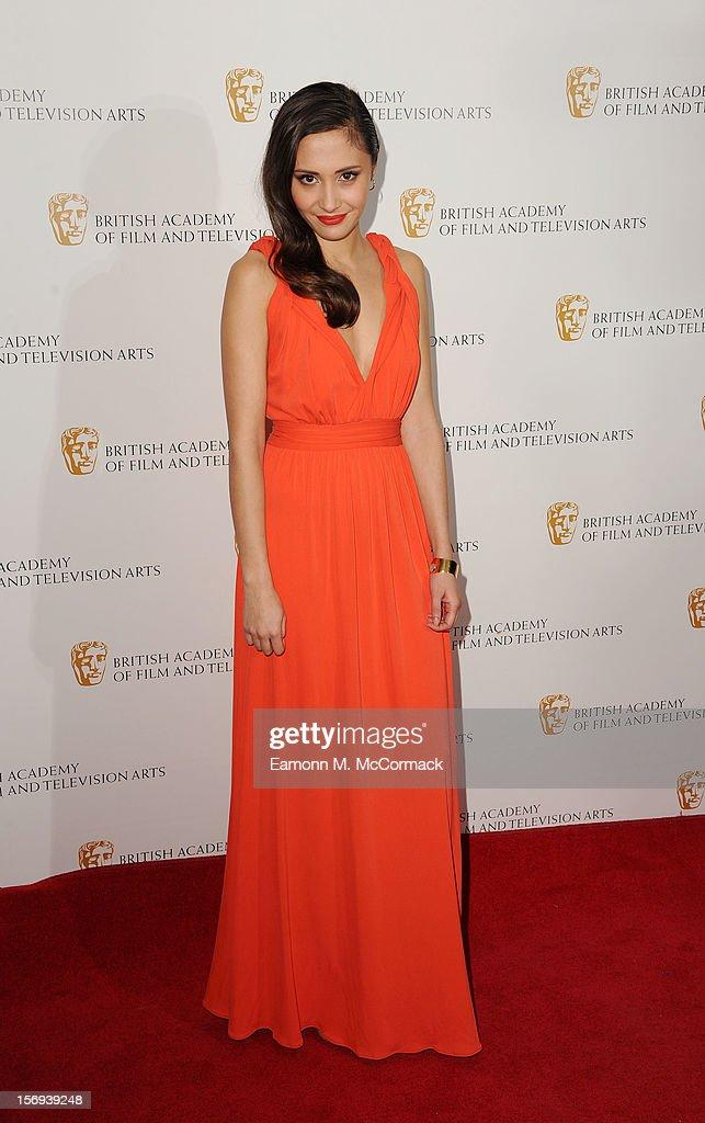 Klariza Clayton of Nickelodeon's House of Anubis attends 2012 Children's BAFTA Awards at Hilton Park Lane on November 25, 2012 in London, England.
