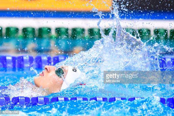 Klaudia Nazieblo during the Budapest 2017 FINA World Championships on July 28 2017 in Budapest Hungary