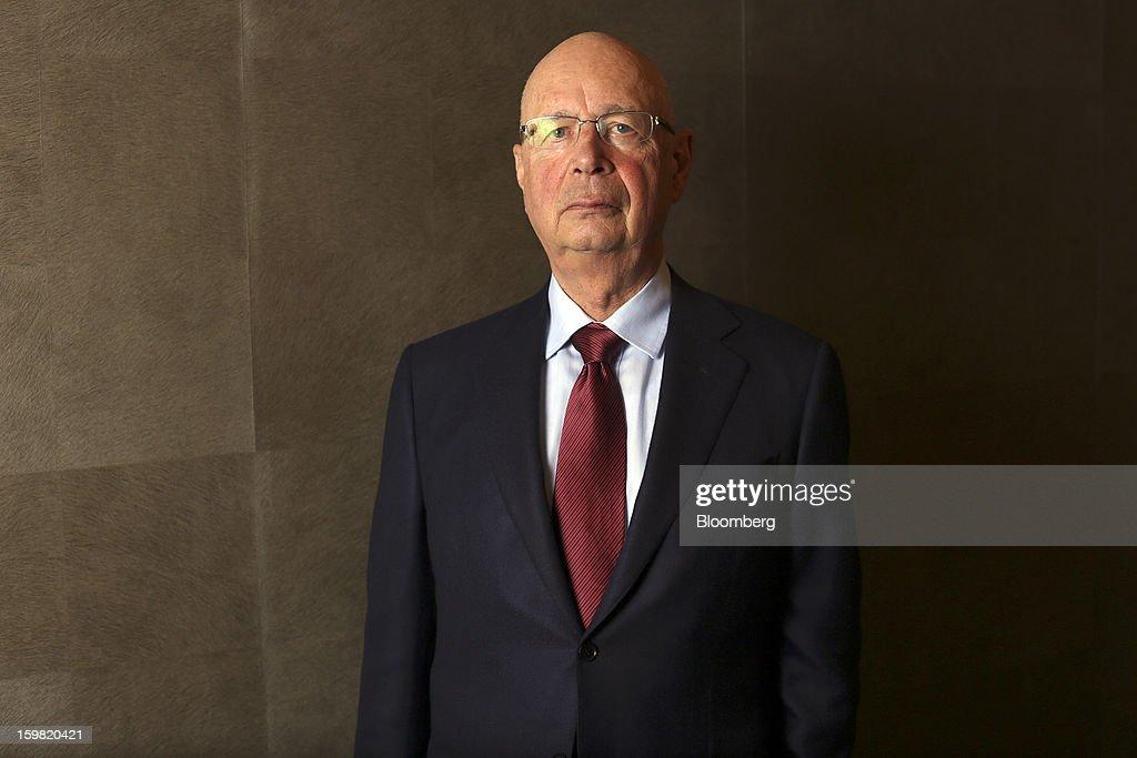 Davos Prepares For The World Economic Forum 2013