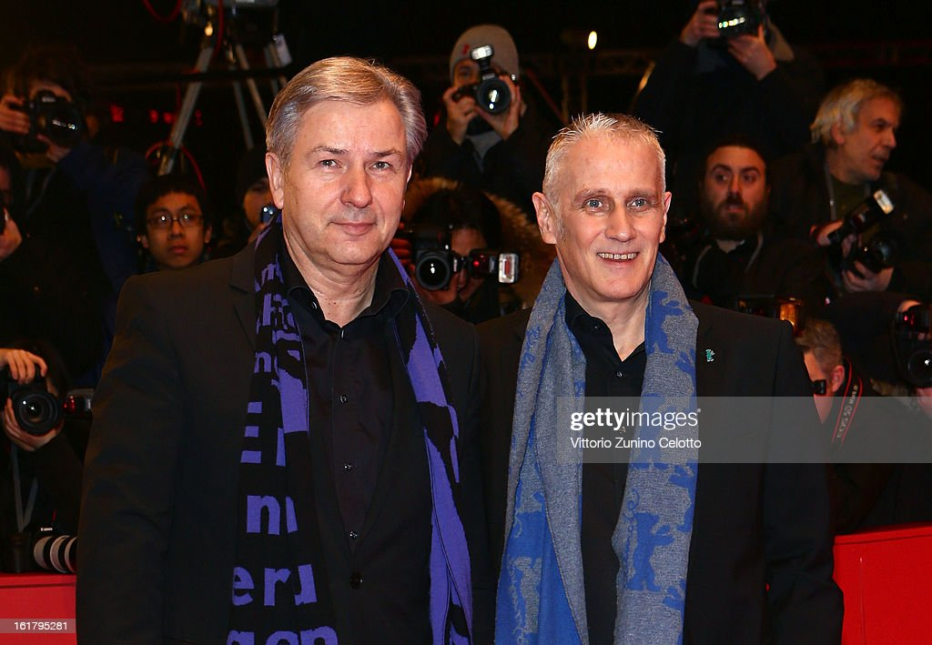 Klaus Wowereit and Joern Kubicki attend the Closing Ceremony of the 63rd Berlinale International Film Festival at Berlinale Palast on February 14, 2013 in Berlin, Germany.