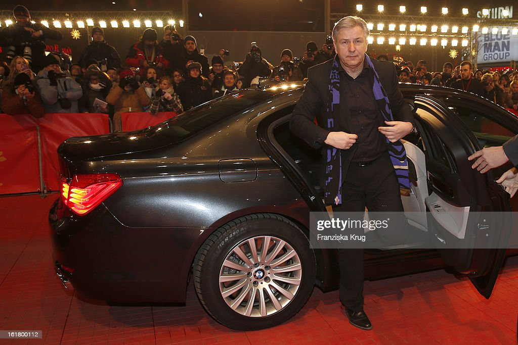 Klaus Wowereit attends the Closing Ceremony Red Carpet Arrivals - BMW At The 63rd Berlinale International Film Festival at Berlinale-Palast on February 16, 2013 in Berlin, Germany.