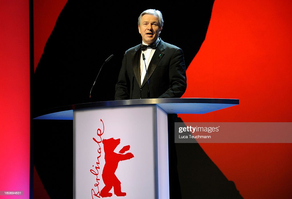 <a gi-track='captionPersonalityLinkClicked' href=/galleries/search?phrase=Klaus+Wowereit&family=editorial&specificpeople=213527 ng-click='$event.stopPropagation()'>Klaus Wowereit</a> during the Opening Ceremony of the 63rd Berlinale International Film Festival at the Berlinale Palast on February 7, 2013 in Berlin, Germany.
