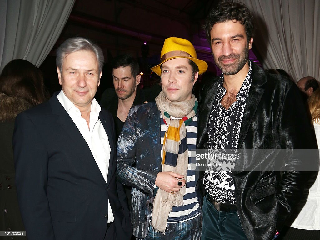 Klaus Wowereit, Rufus Wainwright and Jorn Weisbrodt attend the Teddy Award during the 63rd Berlinale International Film Festival at Station Berlin on February 15, 2013 in Berlin, Germany.