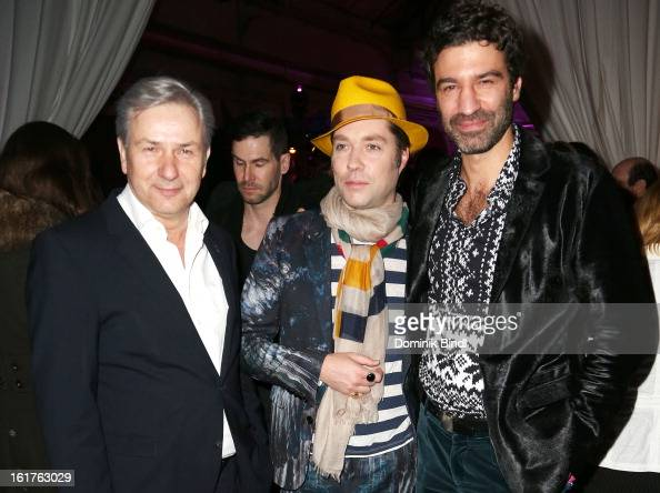 Klaus Wowereit Rufus Wainwright and Jorn Weisbrodt attend the Teddy Award during the 63rd Berlinale International Film Festival at Station Berlin on...