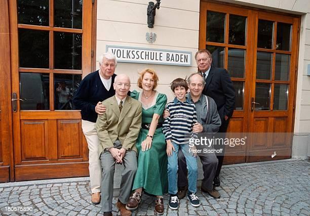 Klausjürgen Wussow Otto Schenk ValentinHeidrich Klausburg Suzanne von BorsodyPeter MaticProf Peter Weck 'Zwei unter einem Dach'Baden/Wien sterreich...