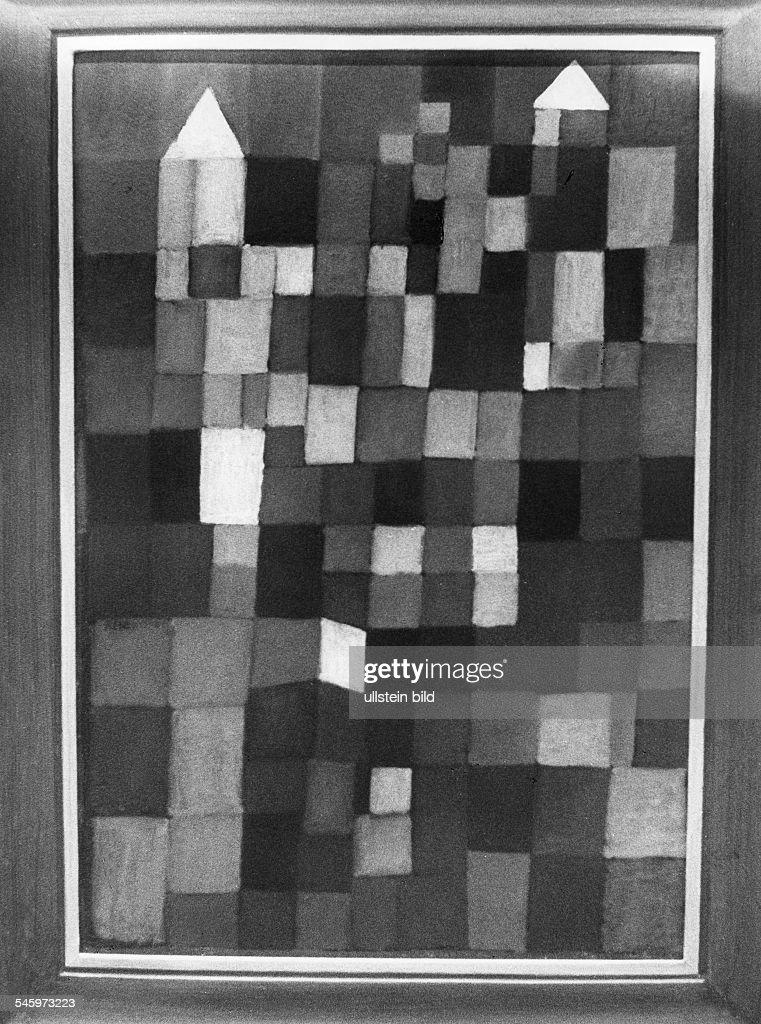 Klee, Paul *18.12.1879-+Maler, Grafiker, D- Gemaelde- undatiert