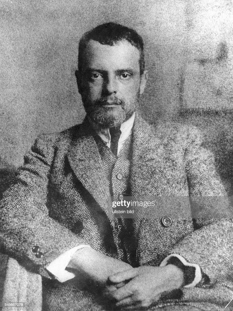 Klee, Paul *18.12.1879-+Maler, Grafiker, D- Portrait- 1922
