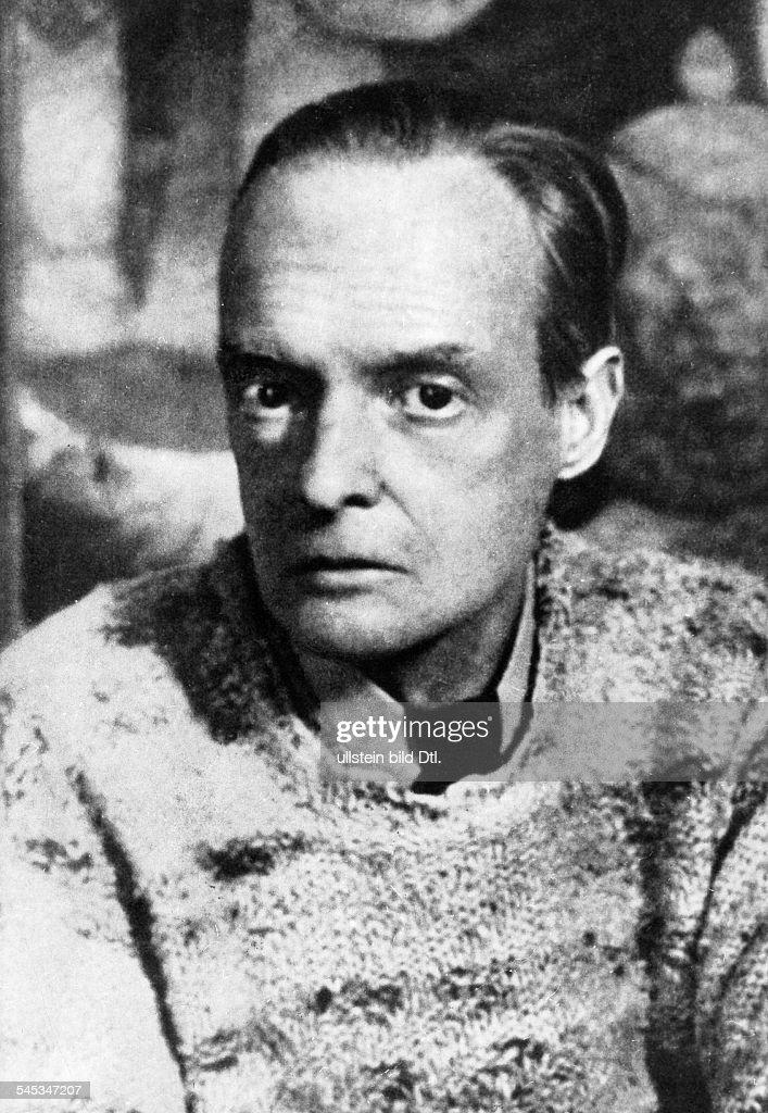 Klee, Paul *18.12.1879-+Maler, Grafiker, D- Portrait- undatiert