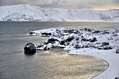 Kleifarvatn is the largest lake on the Reykjanes peninsula in Iceland,