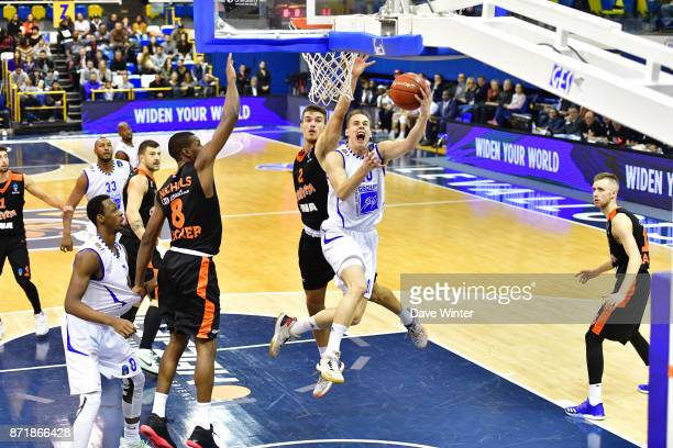 Klemen Prepelic of Levallois during the EuropCup match between Levallois Metropolitans and Cedevita Zagreb at Salle Marcel Cerdan on November 8 2017...