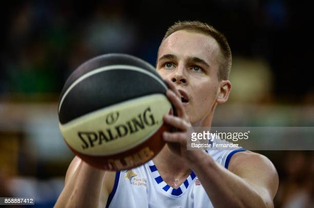 Klemen Prepelic of Levallois during the Pro A match between Levallois and Limoges on October 7 2017 in LevalloisPerret France