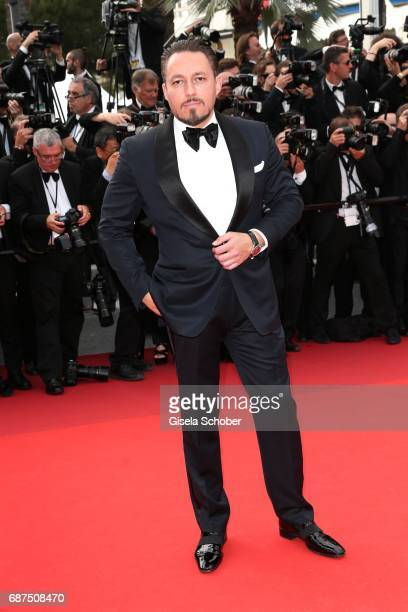 Klemens Hallmann attends the 70th Anniversary screening during the 70th annual Cannes Film Festival at Palais des Festivals on May 23 2017 in Cannes...
