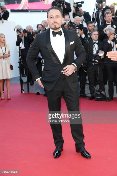 Klemens Hallmann attends the 'Ismael's Ghosts ' screening and Opening Gala during the 70th annual Cannes Film Festival at Palais des Festivals on May...