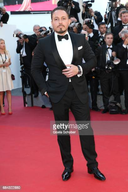 Klemens Hallmann during the 'Ismael's Ghosts ' screening and Opening Gala during the 70th annual Cannes Film Festival at Palais des Festivals on May...
