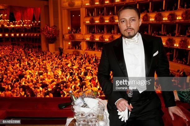 Klemens Hallmann during the Opera Ball Vienna at Vienna State Opera on February 23 2017 in Vienna Austria