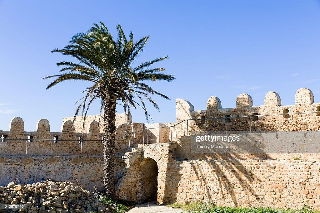 Kélibia Nabeul Governorate Tunisia January 10 2015 The 6th century Byzantine Fortress