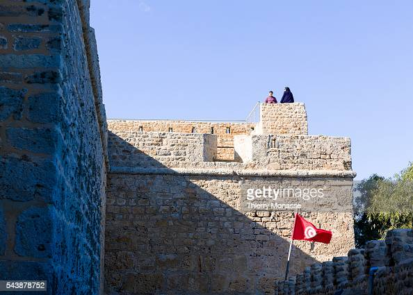 Kélibia Nabeul Governorate Tunisia January 10 2015 The 6th century Byzantine Fortress