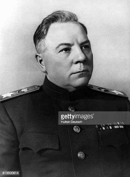 Klimenti Voroshilov the Russian politician He was President of the Soviet Union from 19531960