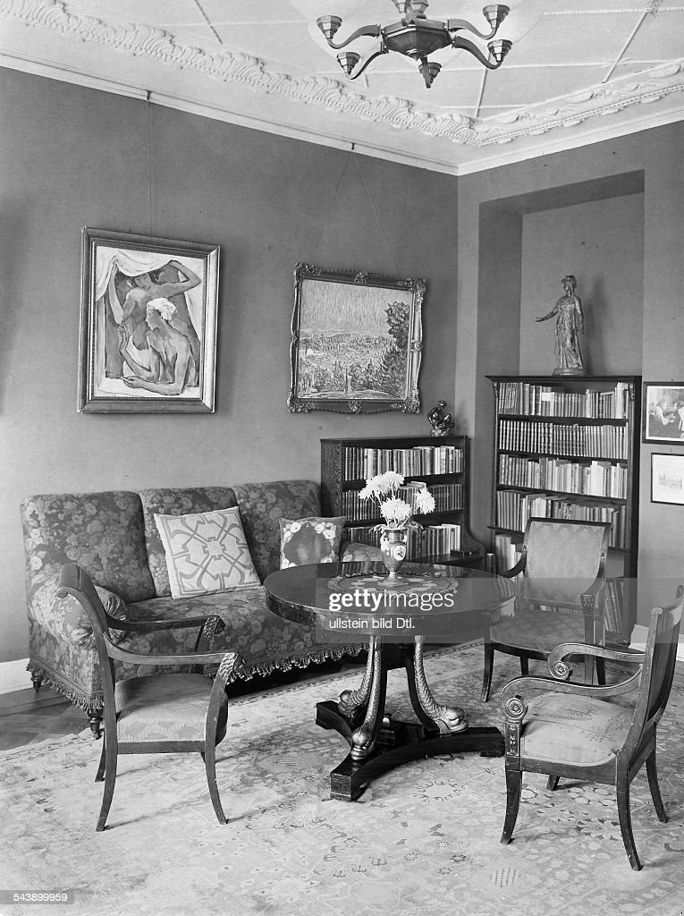 Living Room 1960 klimsch, fritz - sculptor, germany pictures | getty images