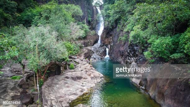 Klong plu waterfall in Kho chang