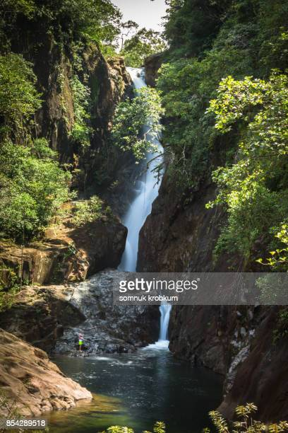 Klongplu waterfall at Koh Chang;Thailand