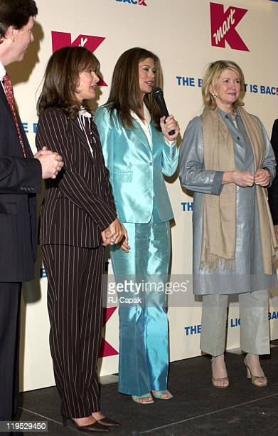 Kmart CEO Chuck Conaway Jaclyn Smith Kathy Ireland and Martha Stewart