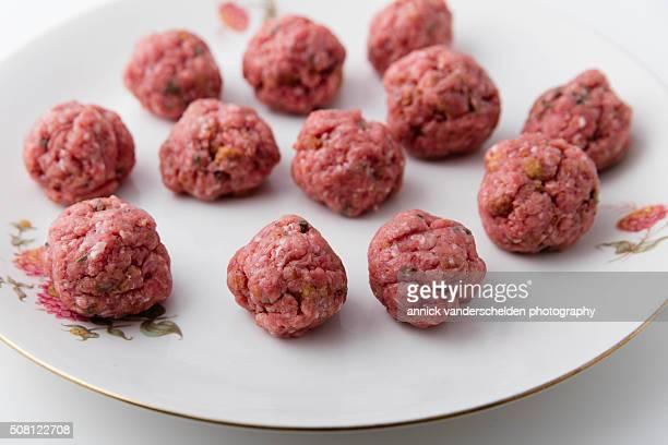 Kneaded meatballs.