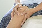 Knee pain in old  women